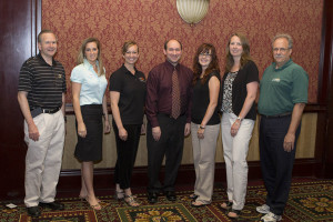 2012-2013 Executive Committee - Kevin Doerr, Megan McMurray Dugan, Kelley Marchbanks, Andrea Farmer, Lynne T. Haley, Thomas M. Venturino