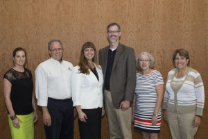 2013-2014 AVAP Executive Committee - Megan McMurray Dugan, Tom Venturino, Kelley Marchbanks, Jonathan Burton, Jo Ann Winn, Gretchen Morgan (Lynne Haley, not pictured)