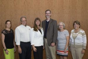 2013-2014 AVAP Executive Committee - Megan McMurray Dugan, Tom Venturino, Kelley Marchbanks, Jonathan Burton, Jo Ann Winn, Gretchen Morgan (Lynne Haley, not pictured)