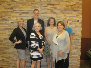 2014-2015 AVAP Executive Committee – Kelley Marchbanks, Jonathan Burton, Jo Ann Winn, Pam Jones, Gretchen Morgan, Cheryl Cobb (Lynne Haley and Jodi Peeler not pictured)